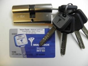 Cylindrická vložka MUL-T-LOCK MT5+