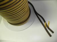 Těsnění CLASSIC E-profil Hnědé (guma) 9mm x 1-3,5mm