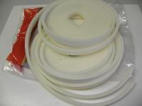 Těsnění universal bílé ( molitan) 15mm x 1-5mm (10metrů)