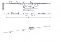 Zadlabovací zámek HOBES K160PP