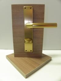 Interiérové kování Birmingham Bronz/AL - zlatý WC