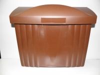 Poštovní schránka hnědá star.880 plast