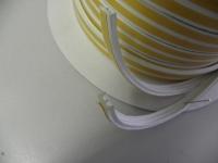 Těsnění CLASSIC E-profil Bílá (guma) 9mm x 1-3,5mm