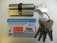 Cylindrická vložka FAB 200D ČAPEK 29+35