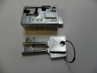 Trezorový zámek 4.15.0028.3 STUV +2kl.50mm schránka vnitř.