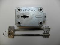 Trezorový zámek 4.19.2704.3 IVOX (155mm)