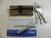 Cylindrická vložka TITAN K6