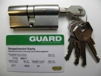 Cylindrická vložka Guard 550