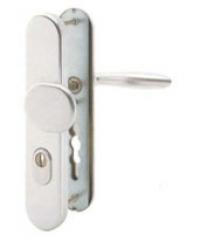 Bezpečnostní kování HOPPE Verona stříbrná Al