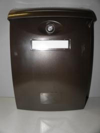 Poštovní schránka ABS A4 Hnědá plast