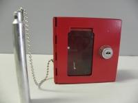 Požární schránka na 1 klíč 100 x 100x 40mm