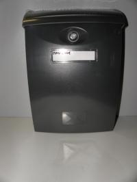 Poštovní schránka ABS A4 grafit plast
