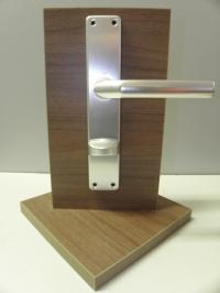 Interiérové kování Birmingham Bronz/AL - stříbrný WC