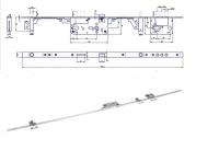 Zadlabovací zámek HOBES K125